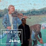 House Music Club DJ Mix by JaBig - DEEP & DOPE 227