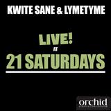 Live at 21 Saturdays - Kwite Sane & Lymetyme (2003)