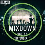 DJ Ramzy - The Mixdown Vol. 5 (September 2017)