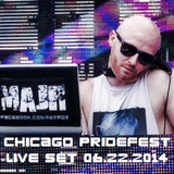 Chicago PrideFest 2014 (live set 06/22/14)