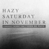 Hazy Saturday in November (18.11.17)