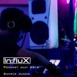 In:flux Podcasts #024 - Sample Junkie (July '16)