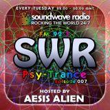 SWR Psy-Trance FM - hosted by Aesis Alien - Episode 007
