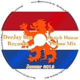Dutch House Promo MIX 2013 Januar 18 Vol.001