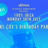 Part V / Igor Marijuan / Live from Carl Cox birthday @ Sands / 30.07.2012/ Ibiza Sonica