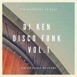 DJ Ken Disco Funk Vol.1 - Garudasana Records