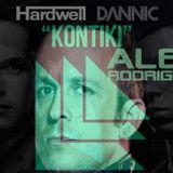 Alex Rodriguez, Hardwell & David Penn  - Push the Kontiki (Lucky Asif Mashup)