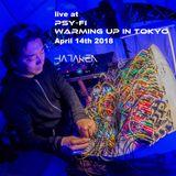 HATAKEN - Live at Psi-Fi Warming up in Tokyo 2018