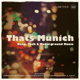 Thats Munich, Vol. 4 - Mixed by Bes & Meret