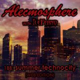 Alecmosphere 188: Summer Technocity with Iceferno (Web Edition)