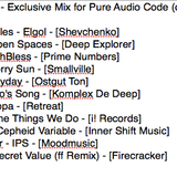 Marcelo Tavares - Exclusive Mix October, 2013 for Pure Audio Code