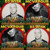 DJ WISK X MC VAPOUR @ RAW BASSLINE SAFARI **VINYL ONLY OLDSKOOL SPECIAL**