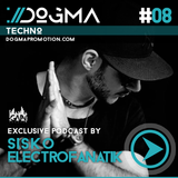 Sisko Electrofanatik – Techno Live Set // Dogma Techno Podcast [March 2014]