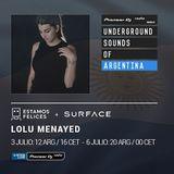 Surface Bookings & Estamos Felices - Lolu Menayed (Underground Sounds of Argentina)