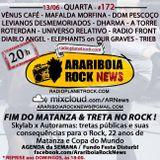 # 172 Arariboia Rock News - 13.06.2018 - Fim do Matanza e Treta no Rock
