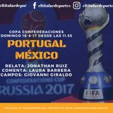 RELATO Portugal - Mexico 18-6-17