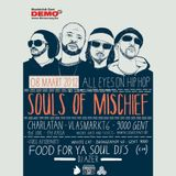 Live at Souls Of Mischief - All Eyes On Hip Hop - Charlatan Ghent