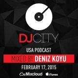 Deniz Koyu - DJcity Podcast - Feb. 17, 2015