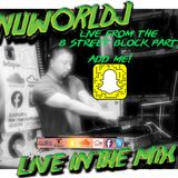 NUWORLDJ  Live from the B Street Block Party at Mr. Tandori's!!