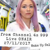 Ally from channel 4 999 on the frontline is special guest on todays breakfast show with Danny