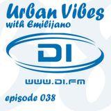 Emilijano - Urban Vibes 038 [DI.FM] (September 2014)