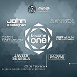 John O'Callaghan - Live @ Become One, Estadio Malvinas (Buenos Aires) - 20.02.2016
