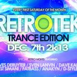 Dave Kane Live @ RETROTEK 07-12-2013