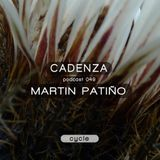 Cadenza | Podcast  049 Martin Patino  (Cycle)