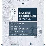 DJ W!ld @ Robsoul 15 Years - Showcase Paris (31-01-2014)