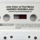 John Eden - Answer riddim mix clash