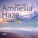 Sam Fall - Amnesia Haze 016 [July 10 2014]on Pure.FM