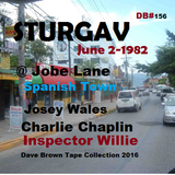Sturgav @ Spanish Town- Jobe lane big Shop  Josey Chaplin  & Willie  2 Jun 1982 (DB #156)