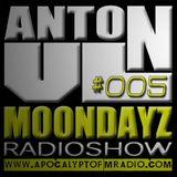 MoonDayz RadioShow By Anton VL  Episode#005 (20.August.2014)