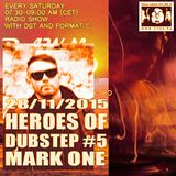 Heroes of Dubstep #5 Mark One a.k.a. MRK1 presented by DST @ Radio Tilos, Dawn Tempo 28/11/2015