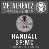 DJ Mag HQ sessions present Metalheadz - Randall & SP-MC