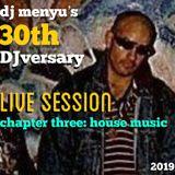 dj menyu's 30th DJversary (part three: house music)