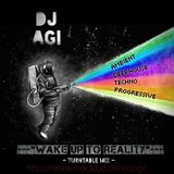 DJ Agi - Soulful Techno  (Wake Up to Reality - Turntable Mix)