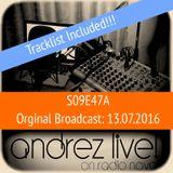 Andrez LIVE! S09E47A On 13.07.2016