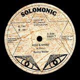 "Bunny Wailer ""Rise and Shine Version"" 12"" Vinyl (Solomonic) 1981"