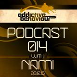 Addictive Behaviour Podcast 014 with Nami