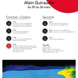 La Quotidienne - masterclass avec Alain Guiraudie à Fonction Cinema - Eclairage