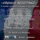Planet X presents French Resistanz - Fnoob Techno Radio UK (2013-04-28)
