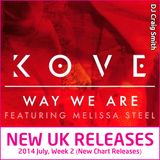 2014-07-13 July Week 2 New UK Chart Releases
