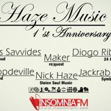 Costas Savvides - Haze Music Anniversary on InsomniaFM - 09.02.2014