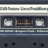 K.Fall b2b Ventura - Live at FreakShow pt. 46 (17.09.2016 @ Airport Club / Gütersloh)