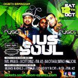 Jussoul LIVE @ Soul Fusion Oct 12 2019 Birmingham
