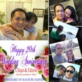 Happy 20th Wedding Anniversary