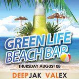 DeepJak - BirthDay Set live from GreenLife BeachBar @ Smokinja 08.08.2013