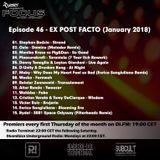 Rydel presents FOCUS 46 - EX POST FACTO (January 2018)