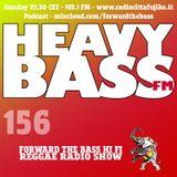 Heavybass FM 156 - 26/2/17 - Salvo (Bologna Calibro 7 Pollici)